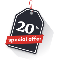 20% special offer