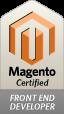 Magento Certified front-end developer